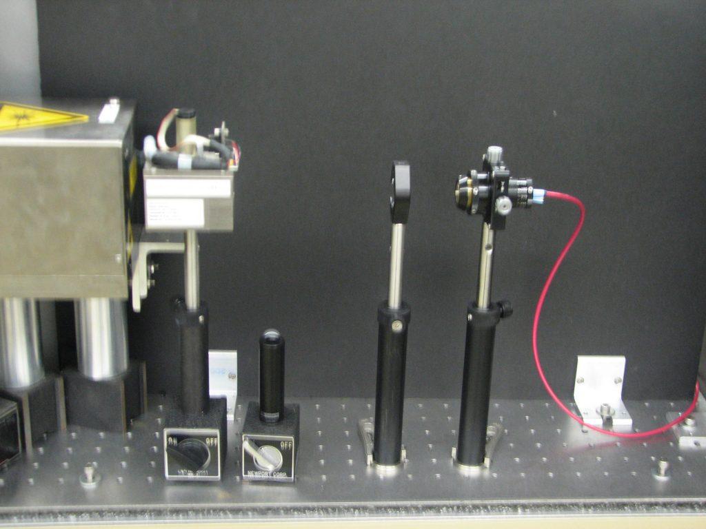 Er:YAG Laser for IR Laser + Electrospray