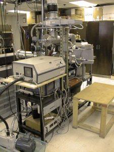 Aerosol MALDI apparatus with 337 nm nitrogen laser for single particle ionization, September 1998