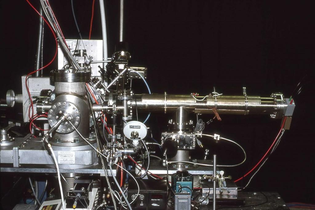 TAMU AMALDI Mass Spectrometer 1992