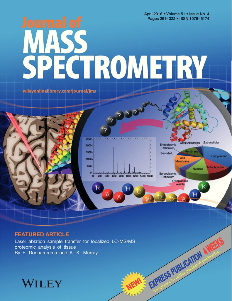 Laser Ablation Sample Transfer for Localized LC-MS/MS Proteomic Analysis of Tissue. J. Mass Spectrom. 2016, 51, 261