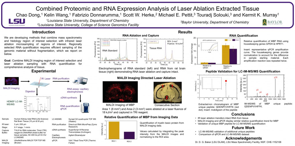 Combined Proteomic and RNA Expression Analysis of Laser Ablation Extracted Tissue