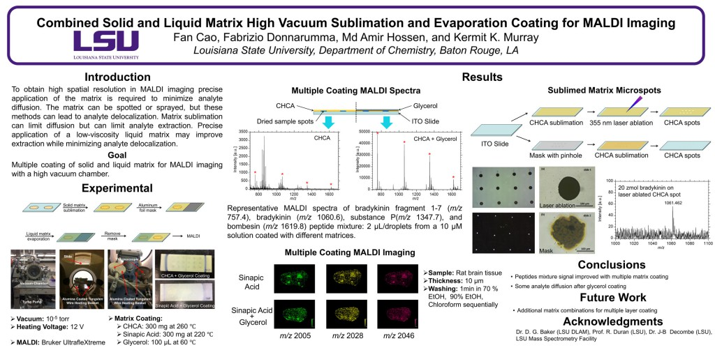 Combined Solid and Liquid Matrix High Vacuum Sublimation and Evaporation Coating for MALDI Imaging