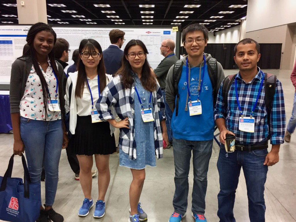 Remi Lewal, Chao Dong, Kelin Wand, Fan Cao, and Bijay Banstola at ASMS 2017