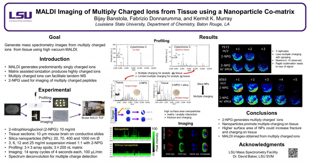 MALDI Imaging of Multiply Charged Ions from Tissue using a Nanoparticle Co-matrix