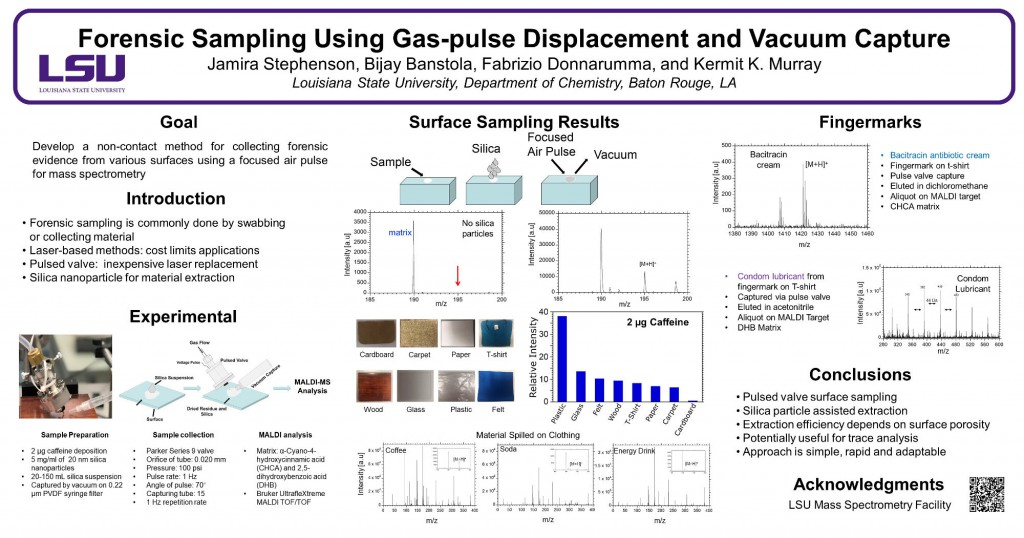 WP278: Forensic Sampling Using Gas-pulse Displacement and Vacuum Capture