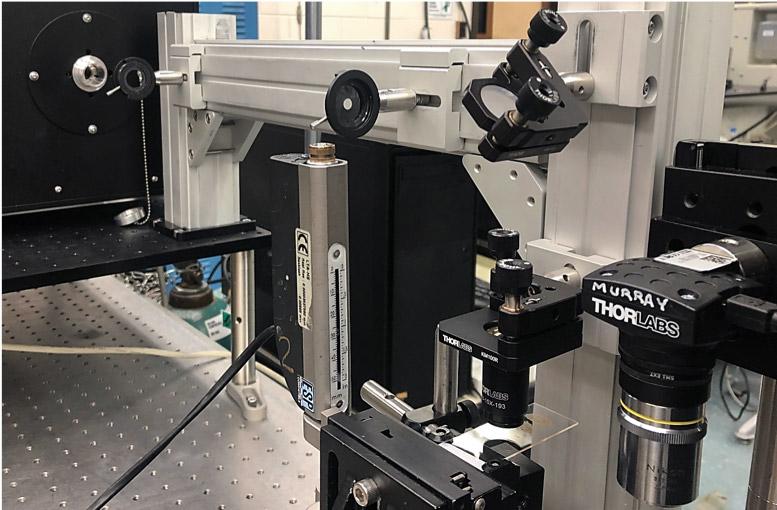 193 nm excimer laser ablation setup