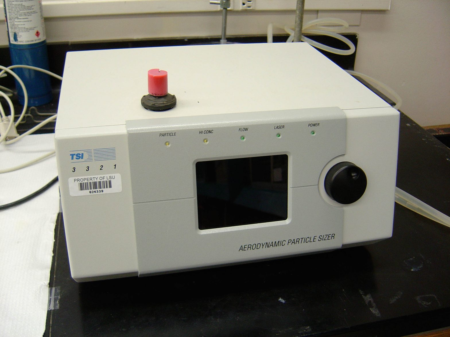 Aerodynamic particle sizer
